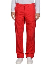 Napapijri Trousers Casual Trousers Men Red