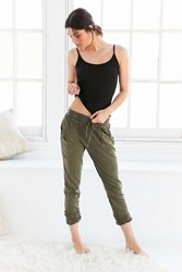 Out From Under Jersey Jogger Pant Green