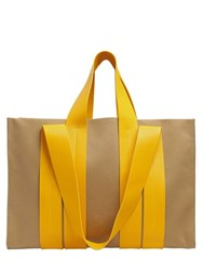 Corto Moltedo Costanza Beach Club Cotton Canvas Tote