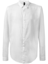 Poeme Bohemien Plain Shirt White