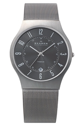 Skagen 'Grenen' Titanium Case Watch