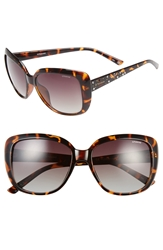 Polaroid Eyewear 57Mm Polarized Sunglasses Havana