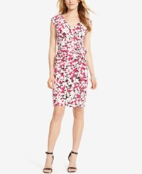American Living Floral Print Jersey Dress Glam Pink Floral
