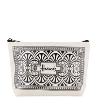 Harrods Art Deco Travel Pouch Unisex