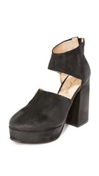 Free People Luxor Platform Heels Black