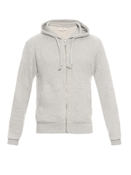 The White Briefs Speedway Fleece Hooded Sweater