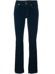 7 For All Mankind 'Charlize' Slim Flared Jeans Blue