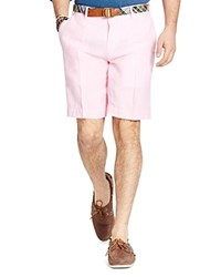 Polo Ralph Lauren Classic Fit Chambray Shorts Pink White