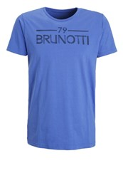 Brunotti Ardanti Print Tshirt Royal Blue