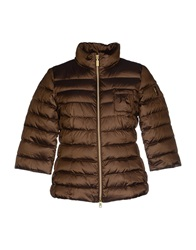 Geospirit Down Jackets Khaki