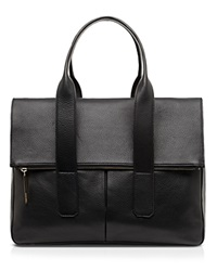 Whistles Tote Fold Over Black