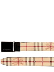 Burberry 30Mm Classic Check Belt