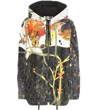 Prada Floreal Printed Silk Jacket Multicoloured