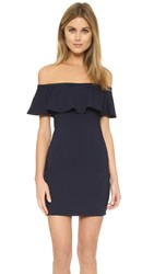 Susana Monaco Hannah Off Shoulder Dress Midnight