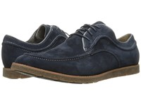 Hush Puppies Hade Jester Navy Suede Men's Lace Up Casual Shoes Blue