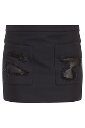 Alexander Wang Cropped Skirt With Distressing