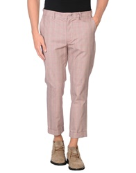 People Casual Pants Pastel Pink