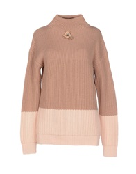 Betty Blue Turtlenecks Camel