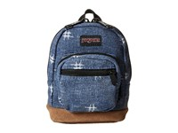 Jansport Right Pouch Turkish Ocean Hashtag Doodad Backpack Bags Blue