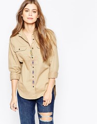 Denim And Supply Ralph Lauren Denim And Supply By Ralph Lauren Surplus Button Down Shirt Classic Khaki Green