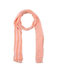 Paolo Pecora Oblong Scarves Orange