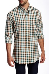 Barbour Alford Gingham Sporting Fit Shirt Green