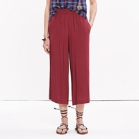 Madewell Clemente Pull On Crop Pants