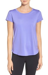 Under Armour Women's 'Fly By' Tee Violet Storm Reflective
