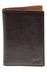 Men's Will Leather Goods 'Shelby' Front Pocket Wallet