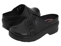 Klogs Usa Syracuse Black Smooth Women's Clog Shoes