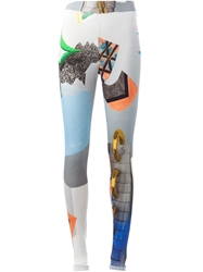Andrea Crews Printed Leggings Grey