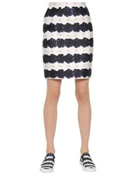 Mother Of Pearl Printed Cotton And Silk Blend Skirt