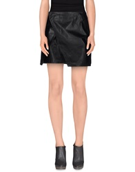 Cameo Mini Skirts Black
