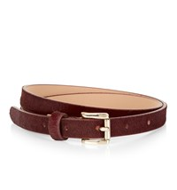 Hobbs Emily Belt Red