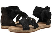 Ugg Idina Black Suede Women's Dress Sandals