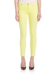 Hudson Nico Midrise Skinny Pants Luminous Yellow