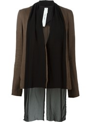 Damir Doma 'Jare' Jacket Brown