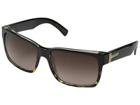 Von Zipper Elmore Black Tortoise Brown Gradient Sport Sunglasses