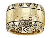 House Of Harlow Safari Band Ring Gold Tone Ring