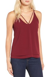 Leith Women's Strappy Tiered Tank