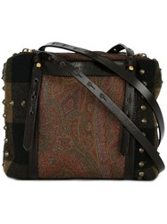 Etro Paisley Print Cross Body Bag Multicolour