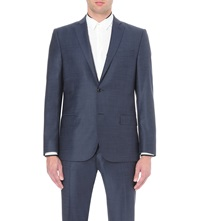 J. Lindeberg Hopper Single Breasted Wool Jacket Dk Blue