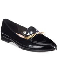 Kate Spade New York Cecilia Cat Detail Loafers Women's Shoes Black