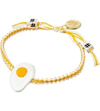 Venessa Arizaga Sunny Side Up Ceramic Bracelet Multi