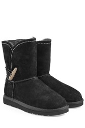Ugg Australia Meadow Sheepskin Boots Black