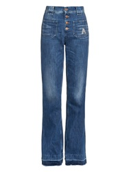 Aries Jane High Rise Flare Jeans