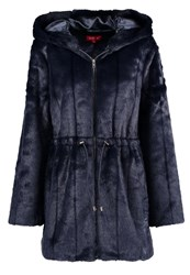Derhy Cardiff Short Coat Marine Dark Blue