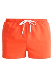 Your Turn Active Swimming Shorts Cherry Tomato Light Red