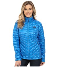 The North Face Thermoball Full Zip Jacket Clear Lake Blue Women's Coat