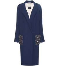 By Malene Birger Zanandos Embellished Coat Blue
